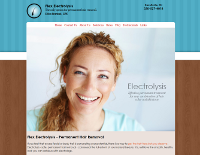 Website packages designed for electrologists and electrolysis practices